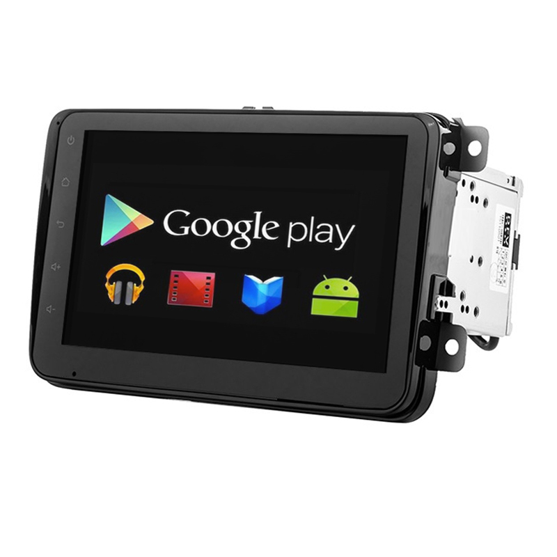 Quad Core 1024*600 Android 4.4 For  8 Volkswagen VW 2din Car DVD GPS Navigation BT Radio Stereo Video Audio Player For Skoda<br><br>Aliexpress
