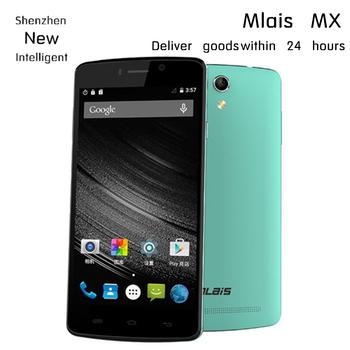 """Бесплатный подарок Mlais MX 5.0 """" IPS MTK6735 64 бит четырехъядерных процессоров мобильный телефон 4 г LTE андроид 5.0 2 ГБ Ram 16 ГБ Rom 13MP камеры двойной sim 3 г OTG"""