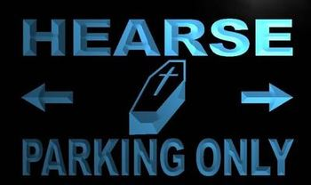 m360-b Hearse Parking Only LED Neon Light Sign Wholesale Dropshipping
