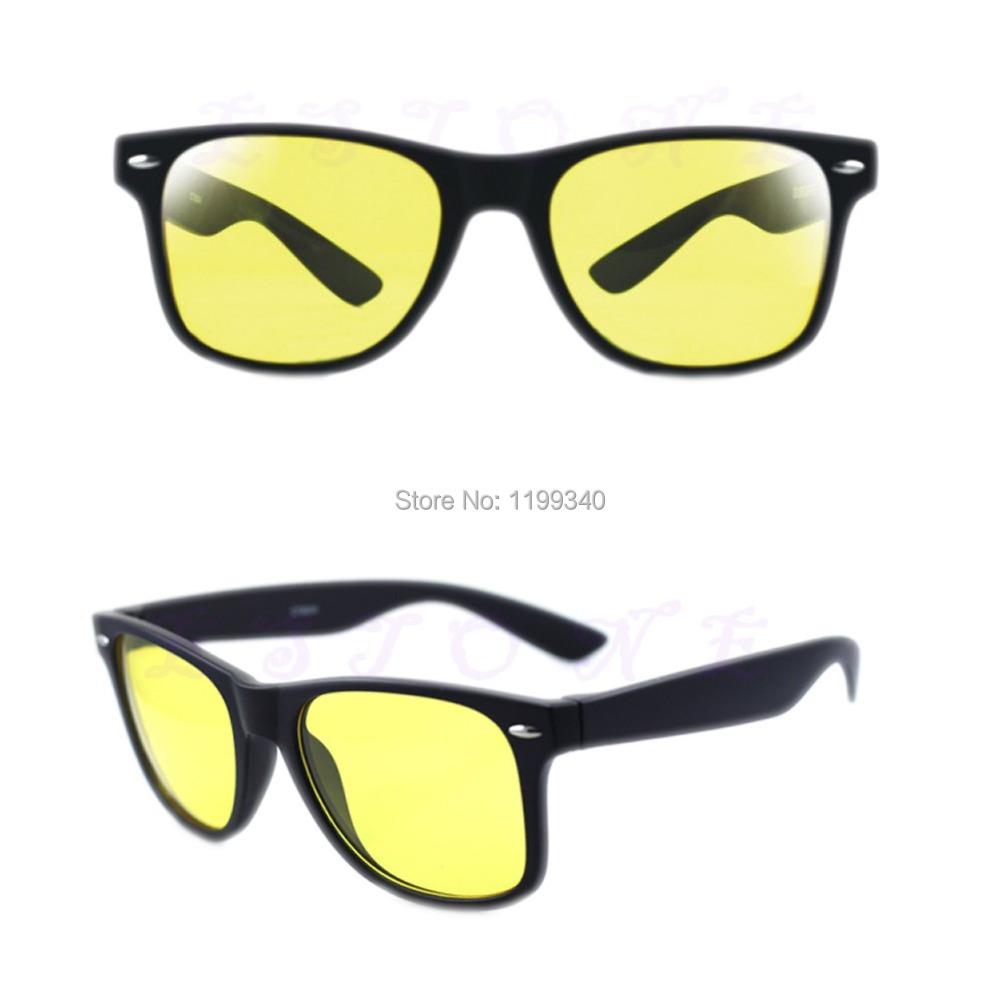 E93 Unisex HD Lenses Sunglasses Night Vision Goggles Driving Glasses UV Protection Free shipping(China (Mainland))