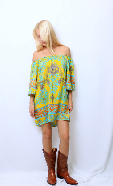 Mode boutique design mellow yellow dress women summer vestidos sexy mini dress casual boho beach - Mellow yellow boutique ...