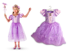 Kids Party Dresses for Girls Cinderella Princess Dress Children Summer Dress Clothes Girl Rapunzel Aurora Belle