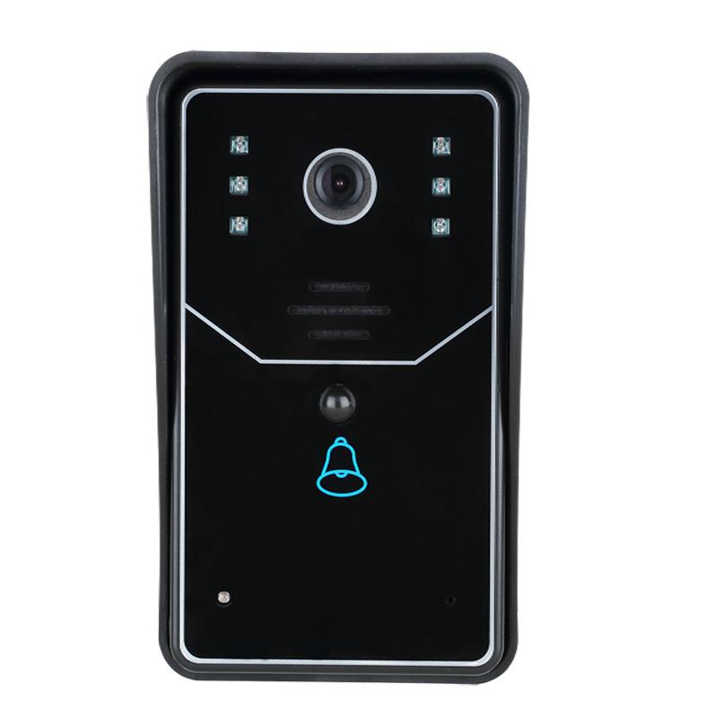 WiFi DoorBell Wireless Smart Video Doorbell Home Improvement Visual Door Ring(China (Mainland))
