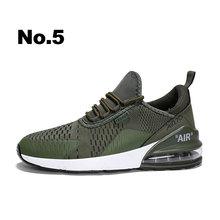 Новое поступление модные мужские кроссовки Air Cushion & Flyknit Tech Zapatos Para Correr дышащие легкие демпфирующие мужские повседневные туфли(China)
