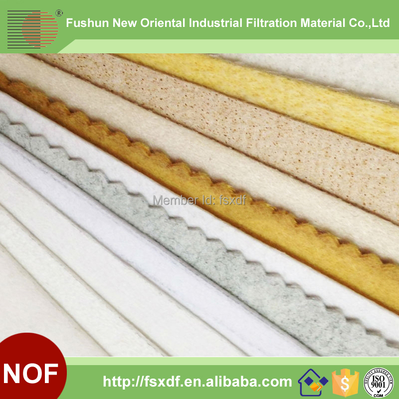 Fushun New Oriental Polyester,PP,PE,Polyamid,Polyimid,PTFE,Nomex,Fiberglass filter cloth/Filter material(China (Mainland))
