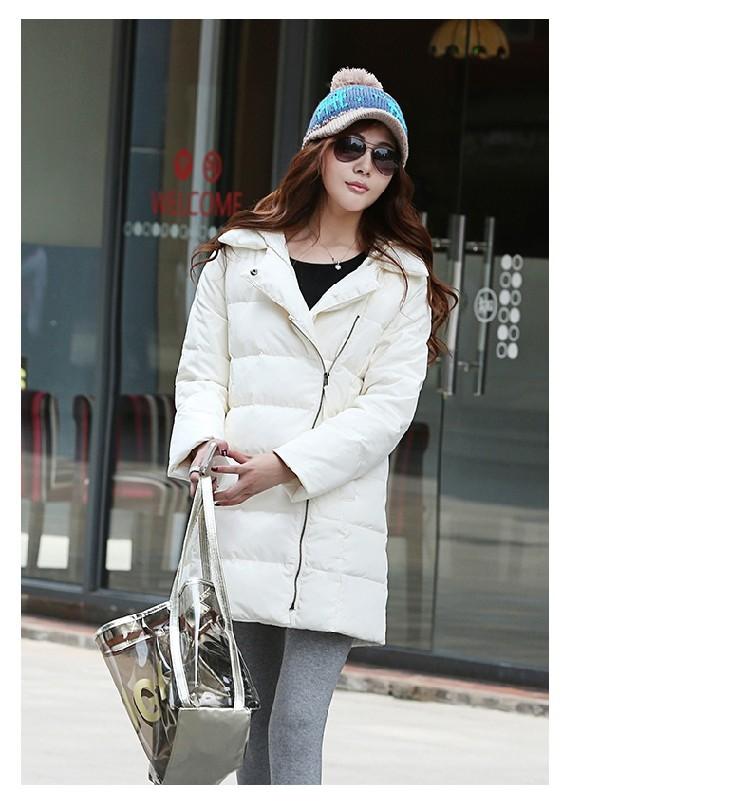 Europe 2016 New Fashion Women Winter Down Jacket Loose Big yards Leisure Thicken Keep warm Cotton-padded Jacket Coat G1080