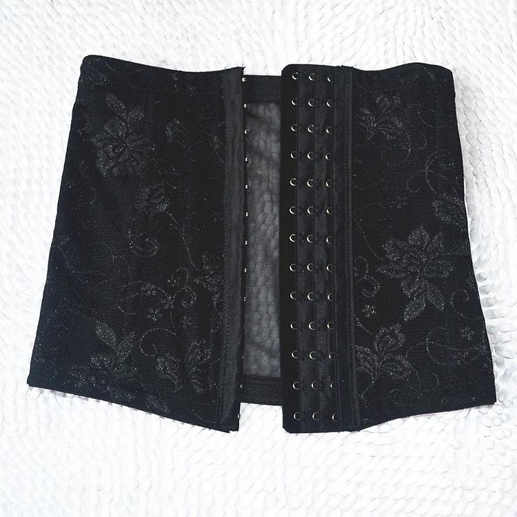Bodysuit Women Butt Lifter Waist Training Corset Button Front Summer Code Thin Air Gauze Postpartum Weight Slimming Abdomen Belt(China (Mainland))