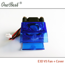 E3D V5 fan cover with 3010 fan 3d printer accessories DIY E3DV5 injection molding radiator cooling