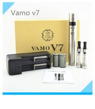 New Arrival VAMO V7  mod kit upgarded 3.0v-6.0v 3W-30W Variable VV 18650  mod Mechanical Mod fit 510 thread with Retail Box