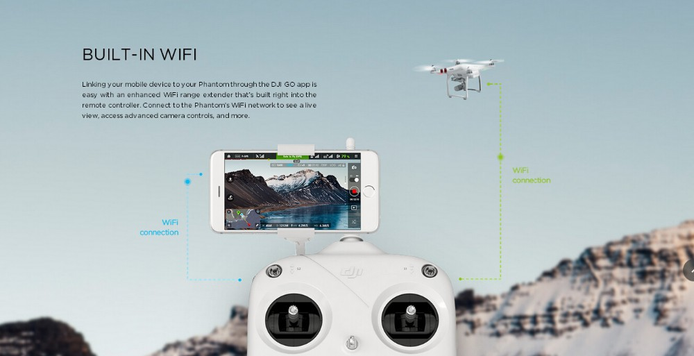 IN Stock!!! DJI Phantom 3 Standard quadcopter RC Drone Quad Copter RTF GPS FPV With 2.7K Camera Fast Shipping