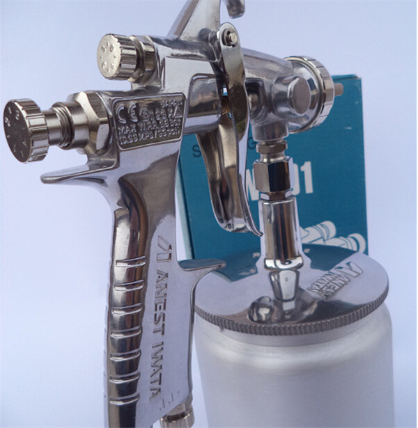 Manual Suction Type Spray Gun for Furniture Coating Anest Iwata W-101 Paint Spray Gun Stainless Steel Nozzle Needle(W-101-S)<br><br>Aliexpress
