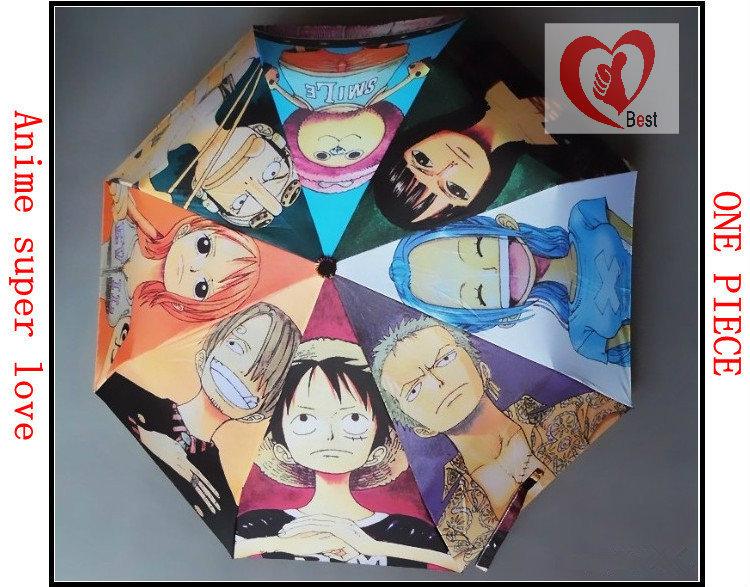 promotion umbrella anime umbrella self-opening umbrella sun umbrella Free Shipping(China (Mainland))