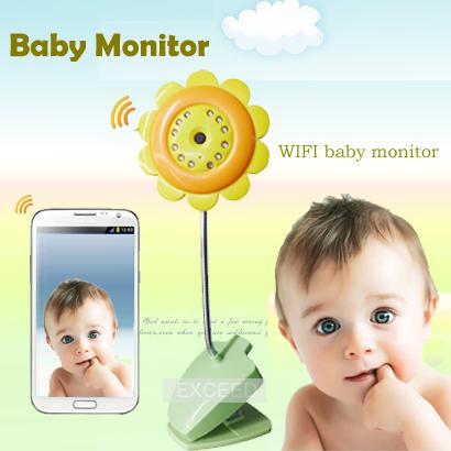 Гаджет  Big sale   Wifi IP Camera Baby Monitor Security Camera  Night Vision Mic for IOS System  Andriod Smartphone Free Shipping None Безопасность и защита