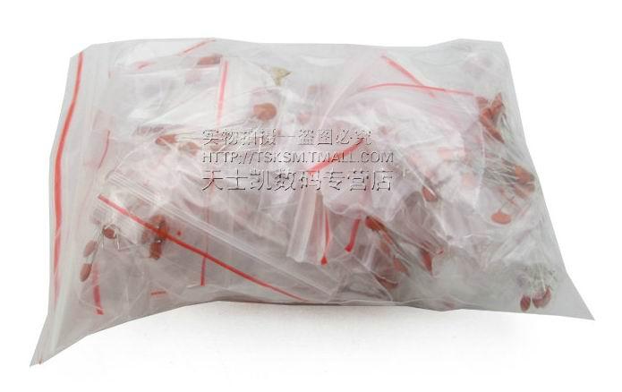 300pcs 30value 50V Ceramic Capacitor Assorted kit Assortment Set SG069-SZ(China (Mainland))