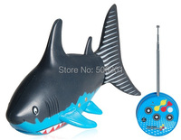 Free shipping + Electronic 2014 New Remote Control Toys 3310B-1 Creative 3 Channel Radio Control Mini RC Shark