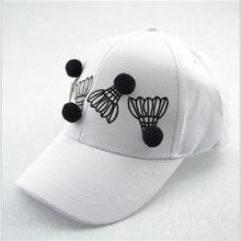 2016 new Harajuku cotton snapback style baseball cap for men and women badminton bend brimmed hat visor hip-hop hats(China (Mainland))