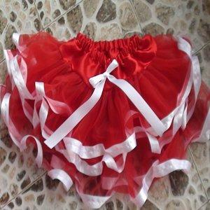 Livraison gratuite! 2012 la vente au gros rouge Tutu , Boutique danse enfant fille rose dentelle pettiskirts pour la princesse