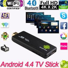 Mini TV Stick Android 4.4 PC Quad Core Rockchip RK3188T 2G/8G Wifi TV Media Player MK809III Bluetooth XBMC DLAN TV Dongle Stick(China (Mainland))