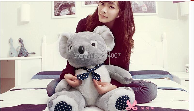 New Fashion Plush Stuffed Doll Koala Animal toy 40cm sitting size doll xmas gift 1pc mty040(China (Mainland))