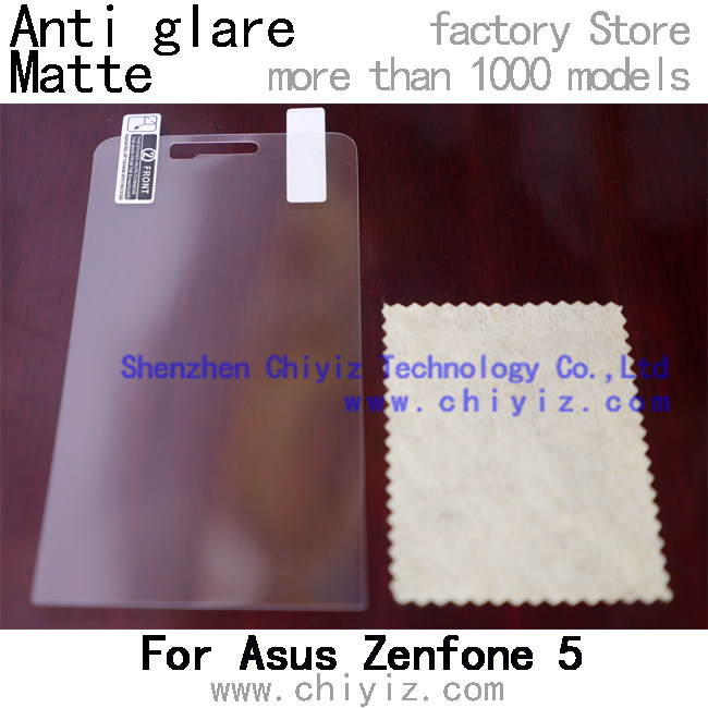 Matte Anti glare screen protector protective film for Asus Zenfone 5 Zenfon 5 A500CG A500KL A501CG