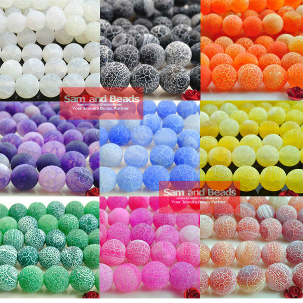 Free Shipping Nature Frost Stone Dream Fire Dragon Veins Agate Beads 4 6 8 10mm Pick Size VAB01(China (Mainland))
