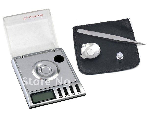 20g 0.001g Mini LCD Digital Scale Diamond Pocket Electronic Jewelry High Precision Measure Milligram 5pcs/lot Dropshipping(China (Mainland))