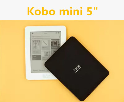 """* Kobo Mini 5"""" e book Reader Touch Screen PDF Livros 2GB Ebook Wifi Built-in dictionary Electronic Book Reader Second Hand(China (Mainland))"""