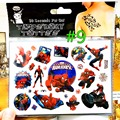 Amazing Spidey Child Favourites Temporary Body Art Flash Tattoo Sticker 17 10cm Waterproof Henna Tatoo Car