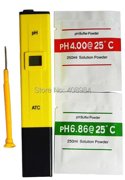 Digital PH Tester Meter Pocket Pen Aquarium Pool Water Digital Pen PH Meter Tester(China (Mainland))