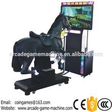 """[50""""LCD] 2016 Hot Sale Amusement Equipment Video Arcade Simulator Horse Ride Trainning Racing Game Machine(China (Mainland))"""