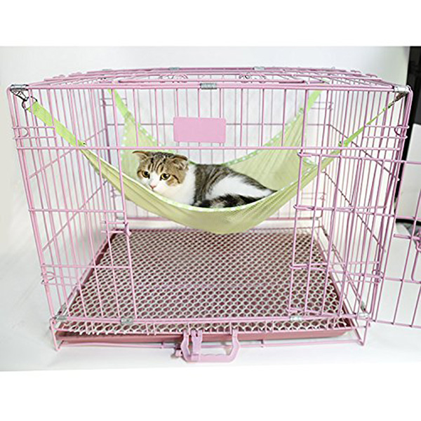 Pet Cat Kitty Mesh Hammock Sleep Bed Animal Hanging Bunk Cage Pad Cat Cage Hammock Puppy Hanging Bed /mat Cover Blankets(China (Mainland))