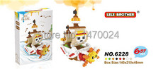 New One Piece THOUSAND SUNNY Friends Minifigures Building LELE Blocks Sets Bricks Toys Compatible with LOZ(China (Mainland))