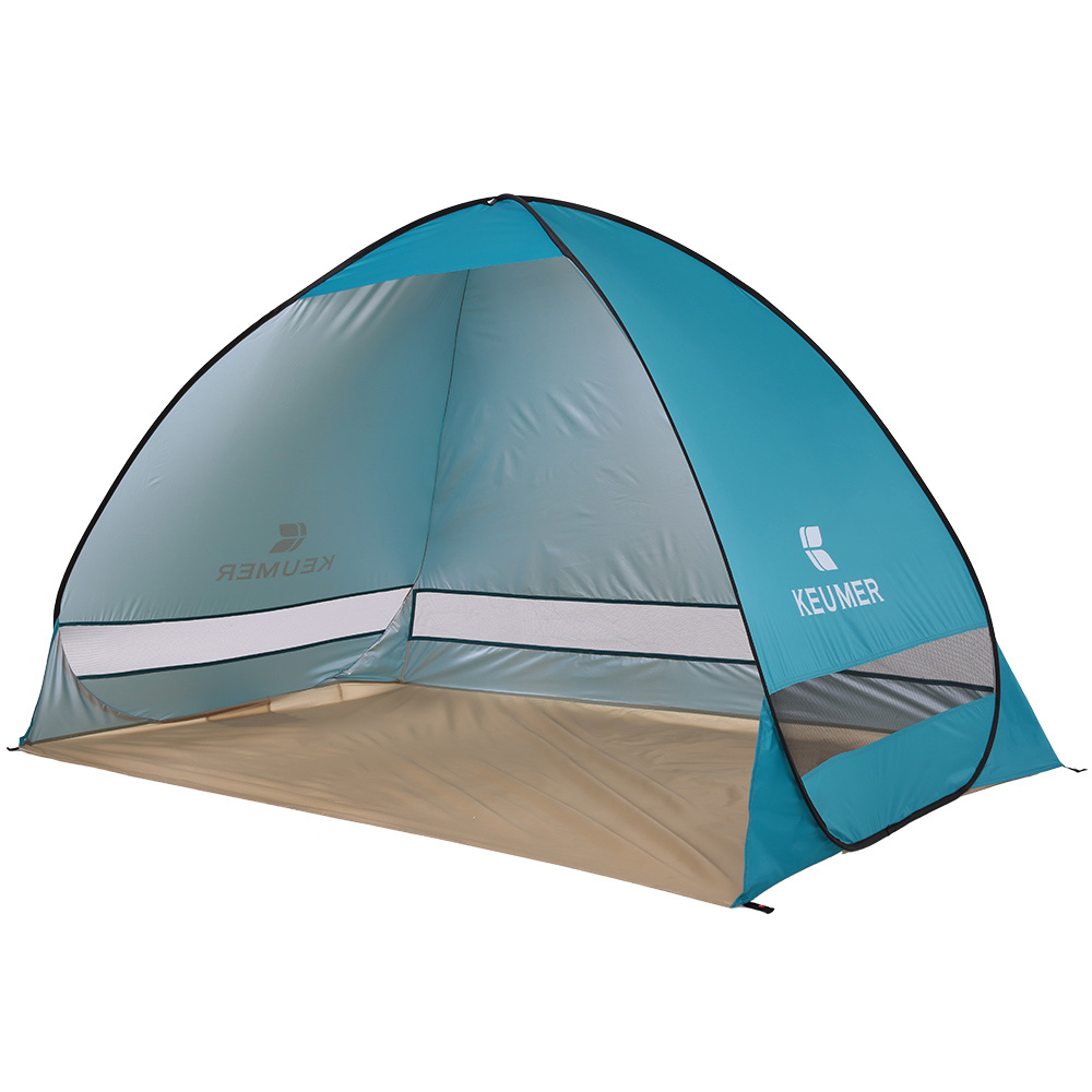 Portable Beach Tent 200*120*130cm Outdoor Automatic Instant Pop-up Camping Tent Anti UV Shelter Fishing Hiking Picnic Tent(China (Mainland))