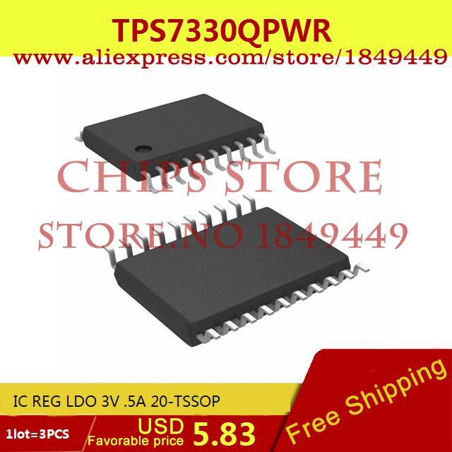 Бесплатная Доставка Интегральные Схемы Типов TPS7330QPWR IC REG LDO 3 В. 5A 20-TSSOP 7330 TPS7330 3 ШТ. бесплатная доставка интегральные схемы типов lt1762ems8 3 3 tr ic reg ldo 3 3 в 15a 8 msop lt1762ems8 3 3 1762 lt1762 3 шт