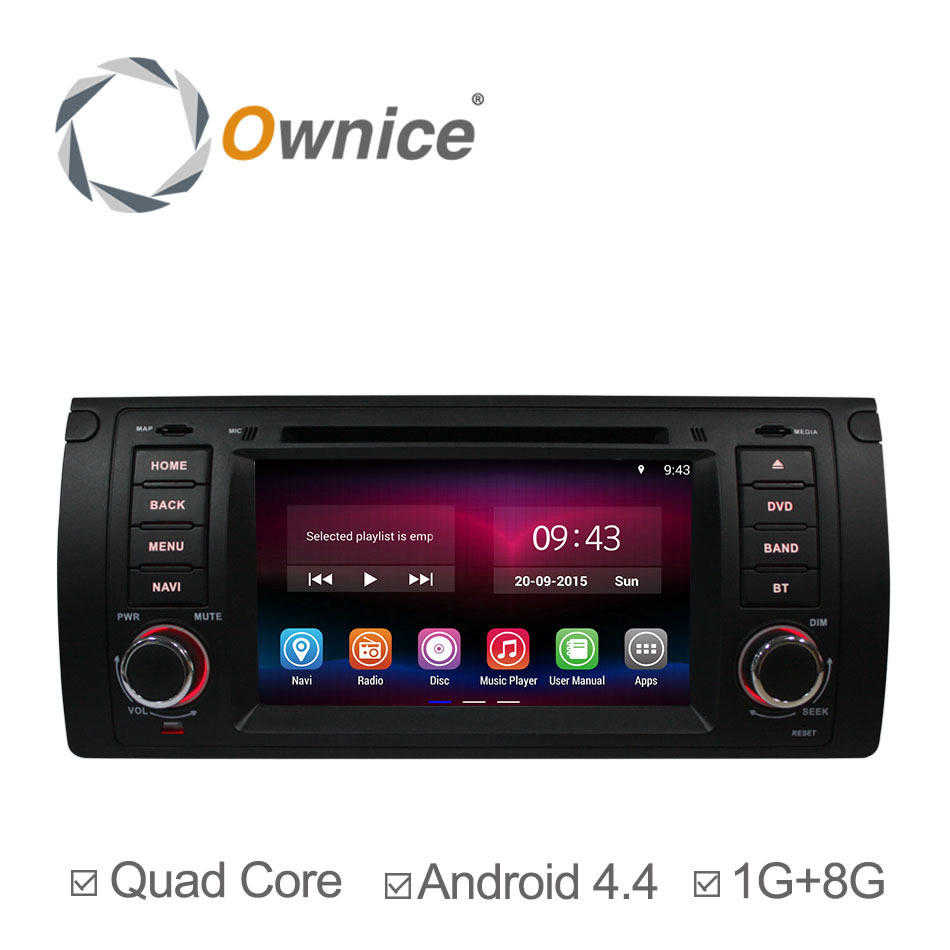 Android 4.4 Quad Core Car DVD Player for BMW E39 X5 E53 E38 Range Rover Bluetooth Retrofit Kits with GPS Navigation Radio Canbus(China (Mainland))