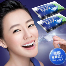 14 Packs 28 Pcs Oral Hygiene Teeth Whitening Strips Professional Bleaching Tooth Whitening Products Double White Gel Dental Gel(China (Mainland))