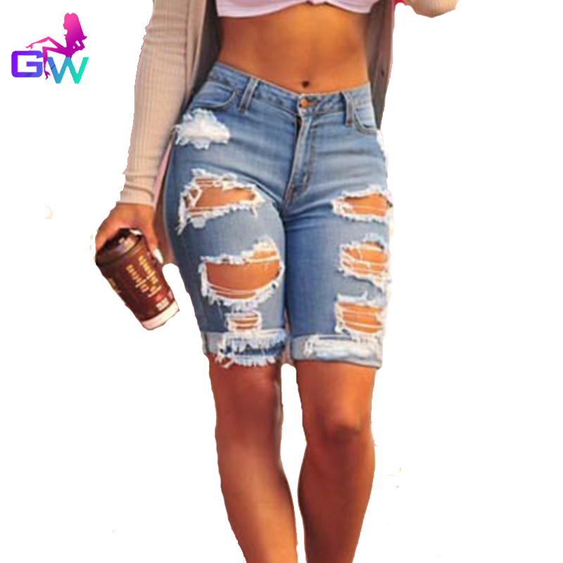 Popular Knee Length Ripped Jeans-Buy Cheap Knee Length Ripped ...