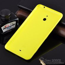 Plastic OEM Battery Door for Nokia Lumia 1320 Cell Phone Back Cover Battery Housing Replacement + side Button(Hong Kong)