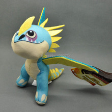"""Free Shipping How to Train Your Dragons 2 Action Plush Stormfly Soft Toy 8"""" #2(China (Mainland))"""
