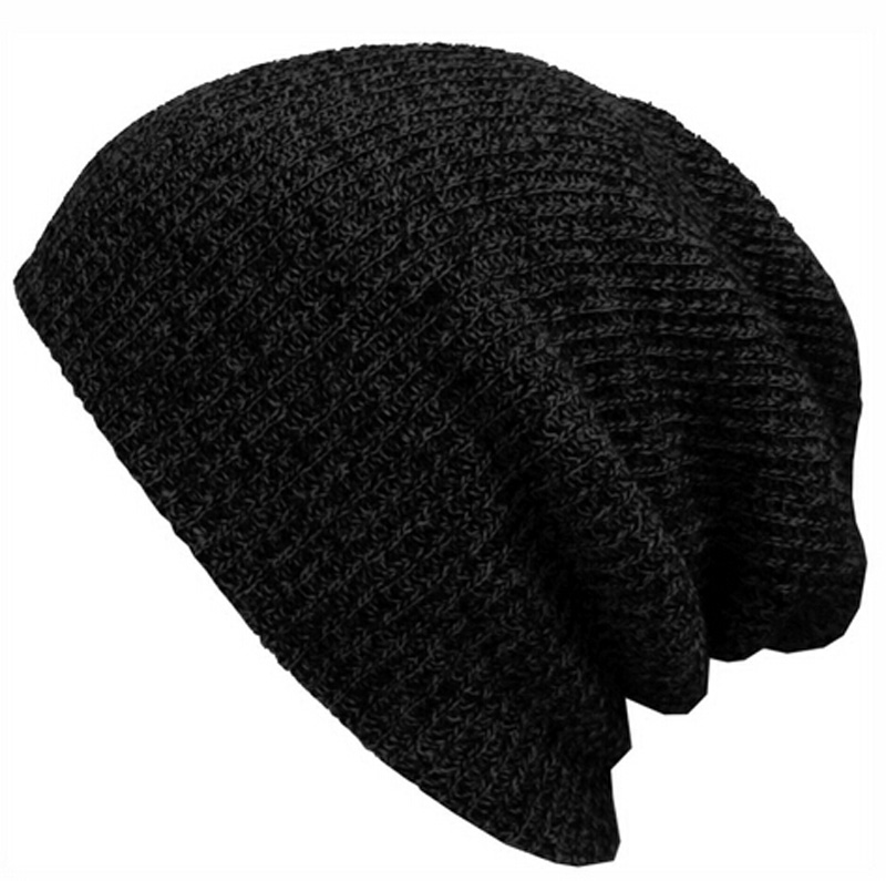 Hot Spring Autumn Winter Beanies Solid Color Hat Unisex Plain Warm Soft Beanie Skull Knit Cap Knitted Touca Gorro Black Grey(China (Mainland))