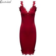 Buy Gamiss Designer Women Summer Dress Sweetheart Neck Lace Slim Bodycon Party Clubwear Sexy Elegant Woman Mini Dress Female Vestido for $9.90 in AliExpress store