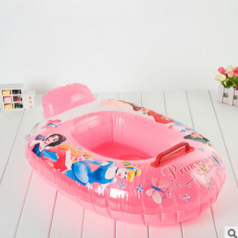 NEW Cute Kids Baby Child children Inflatable Swimming laps Pool Swim Ring Seat Float Boat Water Sports protect kids 2- 8 years(China (Mainland))
