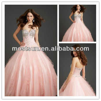 q071 stunning sweetheart beaded corset bodice ball gown