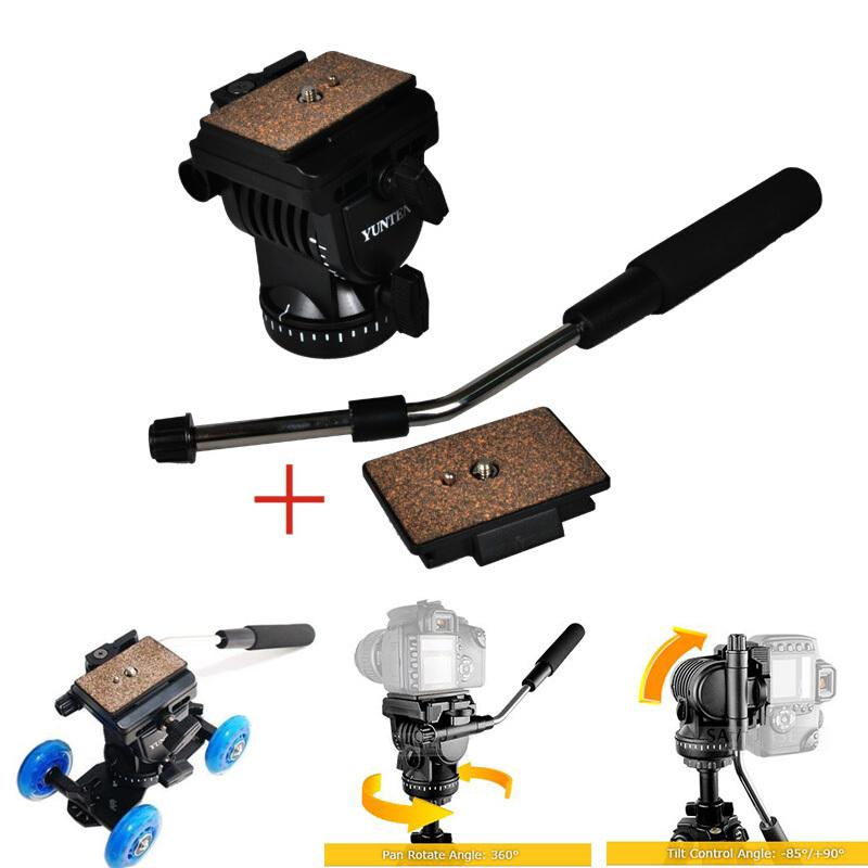 Гаджет  YunTeng YT-950 Professional Photography DSLR DV Hydraulic Pressure Fluid Tripod Head For Shooting Filming Studio Video Camera None Бытовая электроника