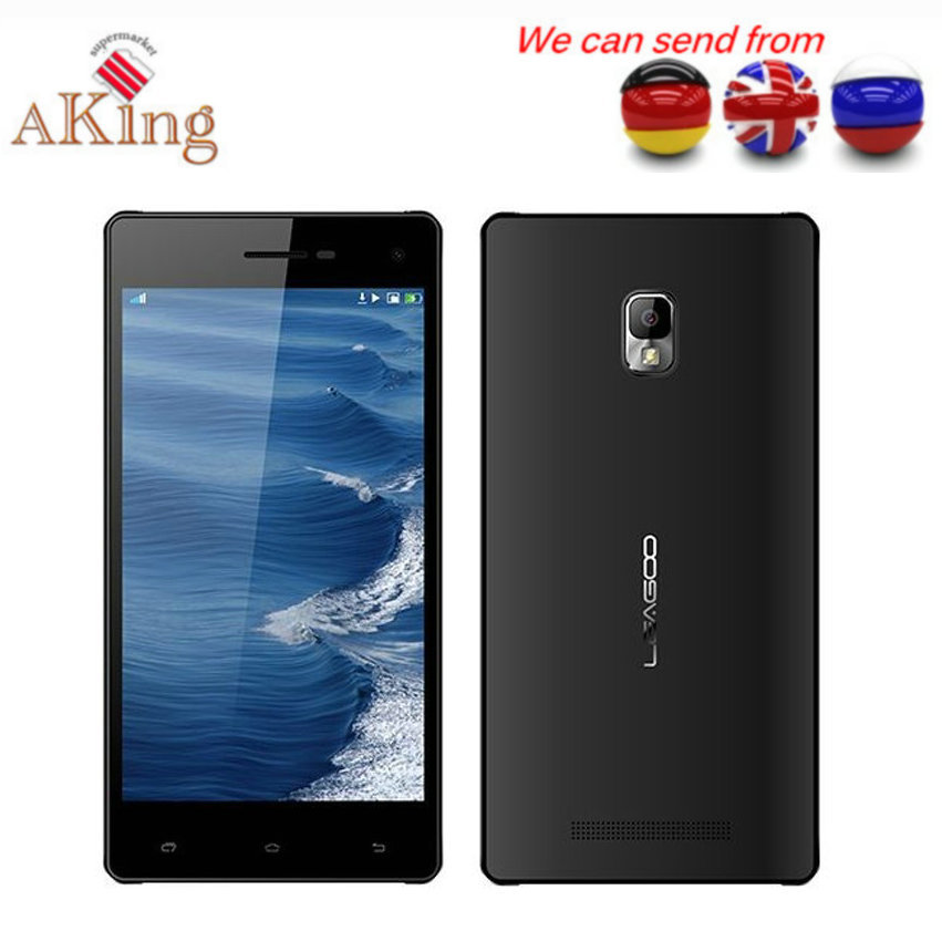 From UK Germany CHINA Original Leagoo Lead 2 Quad Core MTK6582 Android 4.4 Dual Sim 1G RAM 8G ROM 13MP 3G GPS Cell phone(China (Mainland))