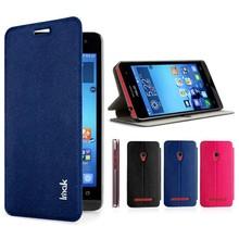 New Genuine Imak happy series waterproof side flip stand leather case for Asus ZenFone5 ZenFone 5(China (Mainland))