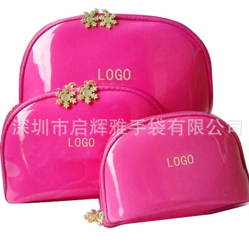 1 PC New Woman cosmetic bag 3 Size storage PU bag Fashion Lady Travel Cosmetic Pouch Bags Clutch Storage Makeup organizer Bag(China (Mainland))