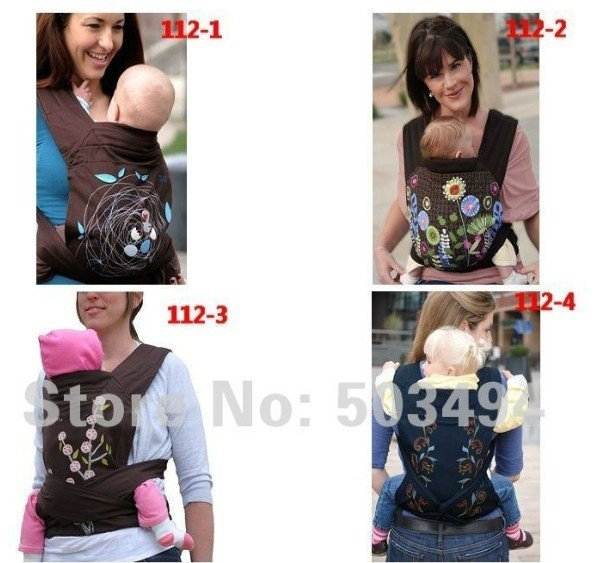 Drop shipping MEI TAI Baby Carrier Carry Sling Meitai Minizone carriers 4 Styles Free shipping
