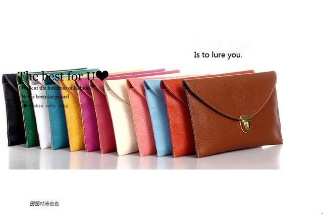 ladies' PU Hand bag, fashion handbag,clutch ,Inclined shoulder bag, PU Envelope Chain Purse Handbag ! Free shipping