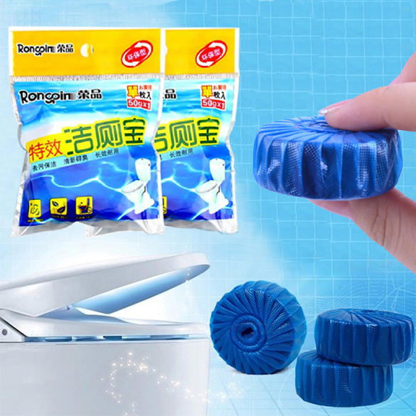 2016 New Arrival Automatic Toilet Bowl Cleaner Deodorizes Closestool Blue Defender BS(China (Mainland))